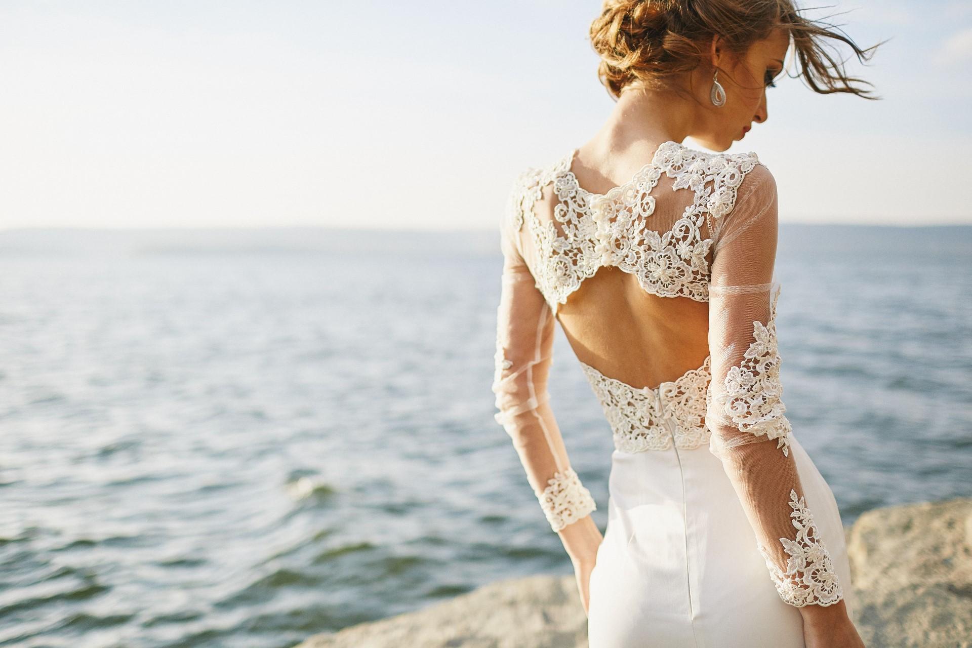 Robe de mariée Lyon de style sirène